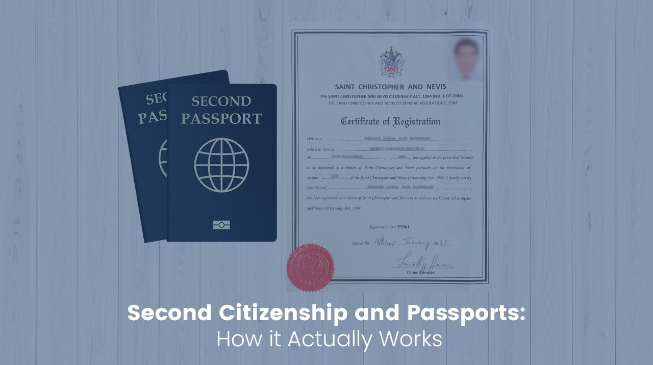 Second Citizenship and Passports How it Actually Works